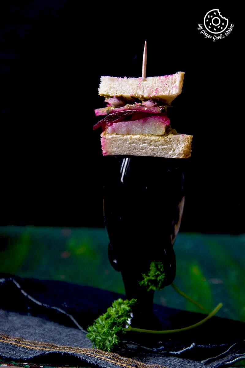 Bombay Veg Sandwich | mygingergarlickitchen.com/ @anupama_dreams