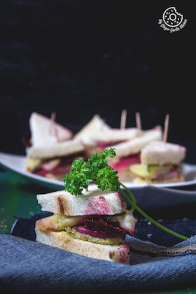 Image of Bombay Vegetable Sandwich Recipe