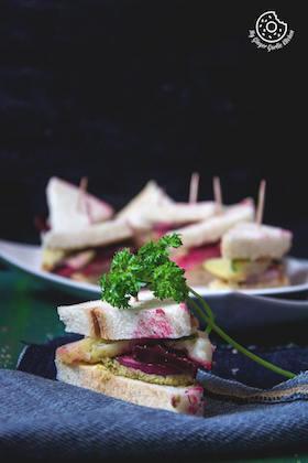 Bombay Veg Sandwich | How to Make Bombay Vegetable Sandwich | Video Recipe