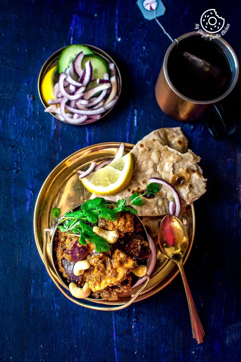 Restaurant Style Paneer Do Pyaza | mygingergarlickitchen.com/ @anupama_dreams