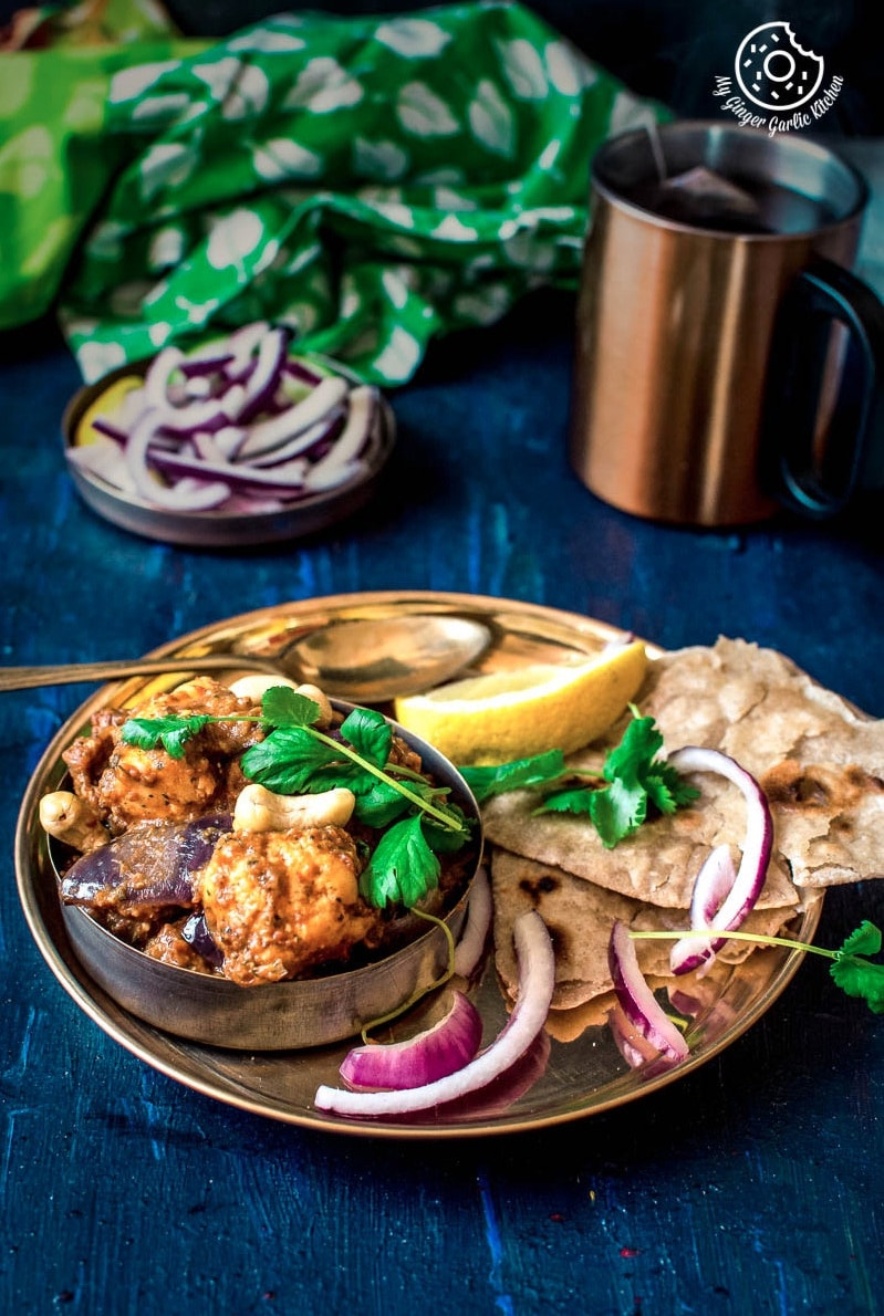 Image - recipes Paneer Do Pyaza anupama paliwal my ginger garlic kitchen Pinterest