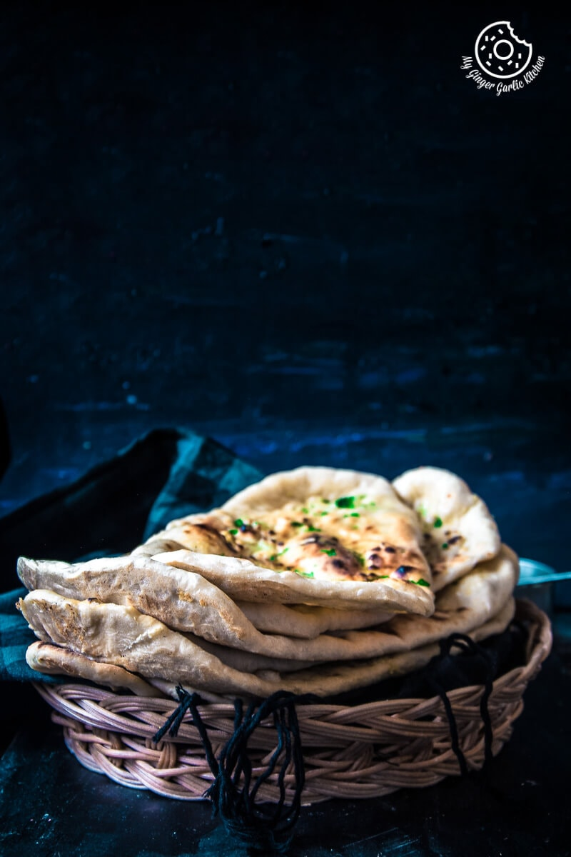 Restaurant Style Indian Garlic Naan - 3 Ways | mygingergarlickitchen.com/ @anupama_dreams