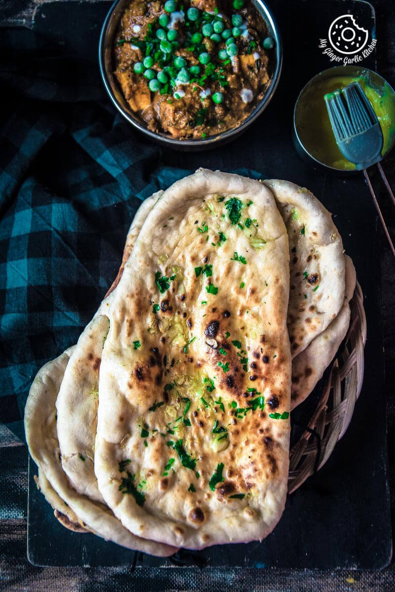Restaurant style indian garlic naan 3 ways restaurant style indian garlic naan 3 ways mygingergarlickitchen anupamadreams forumfinder Gallery