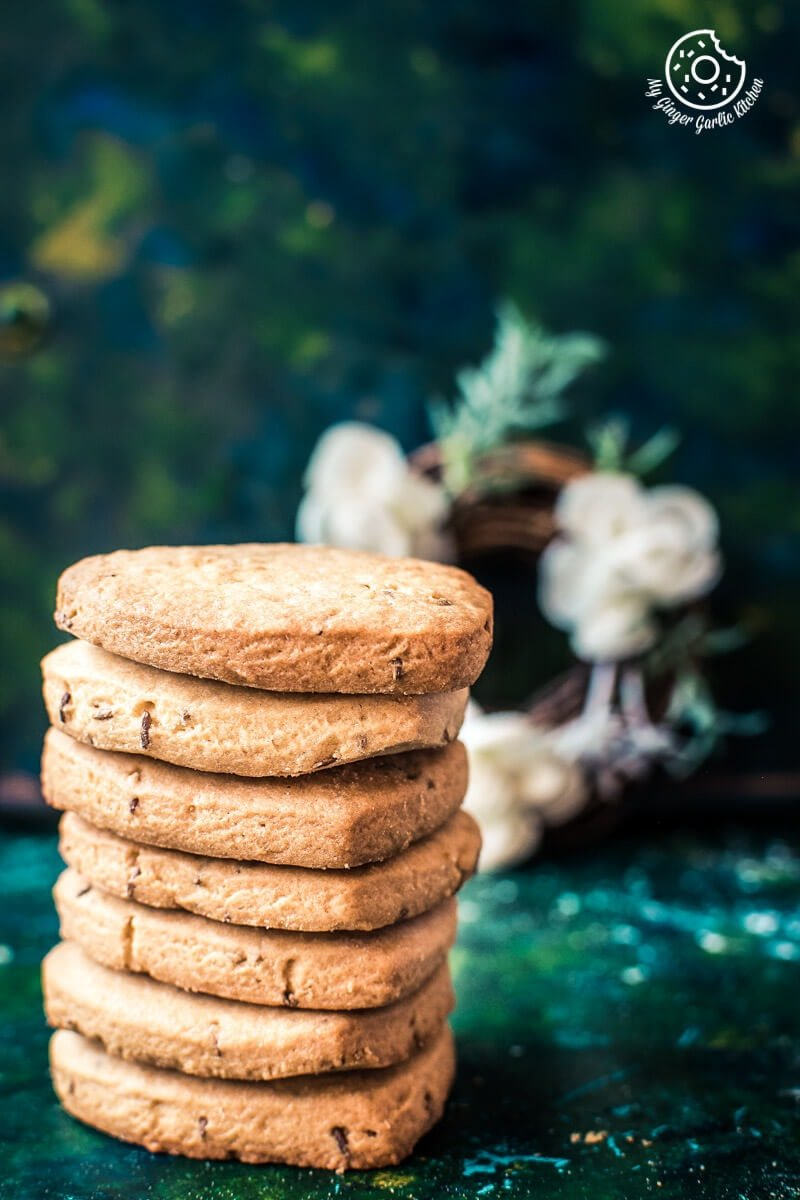 Jeera Biscuits | Roasted Cumin Cookies | mygingergarlickitchen.com/ @anupama_dreams