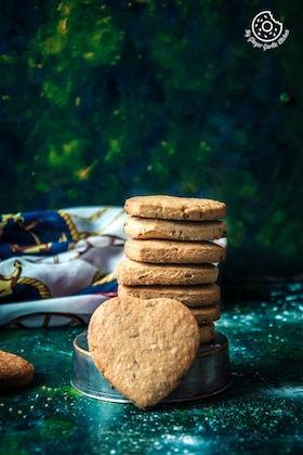 Jeera Biscuits | Eggless Roasted Cumin Cookies | Video Recipe