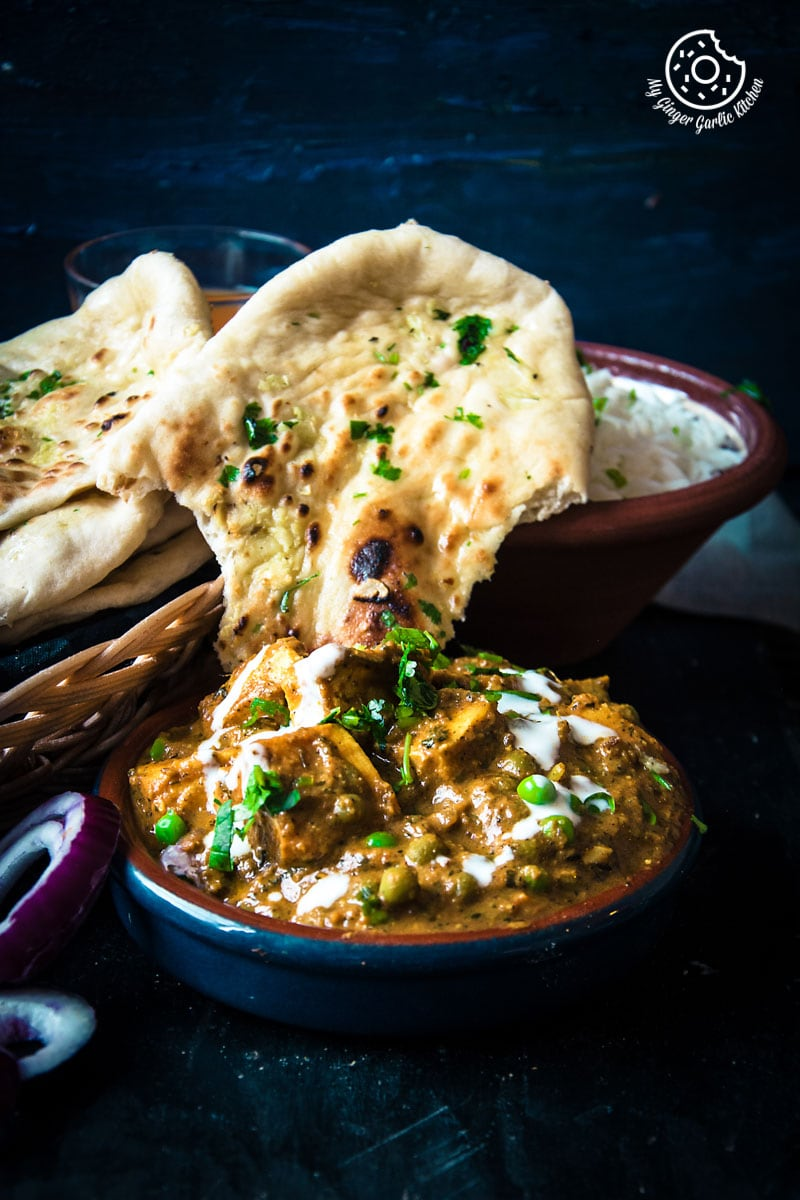 Image of Matar Paneer - Peas and Cottage Cheese Curry