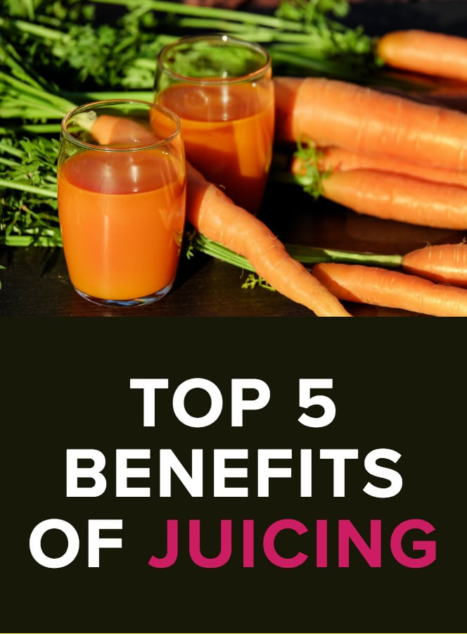 Image - Top 5 Benefits of Juicing