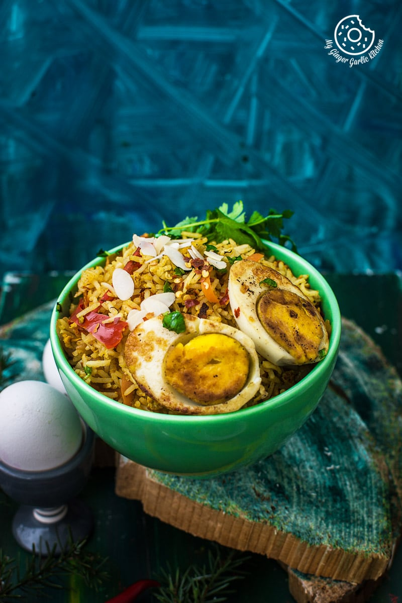 Indian egg fried rice