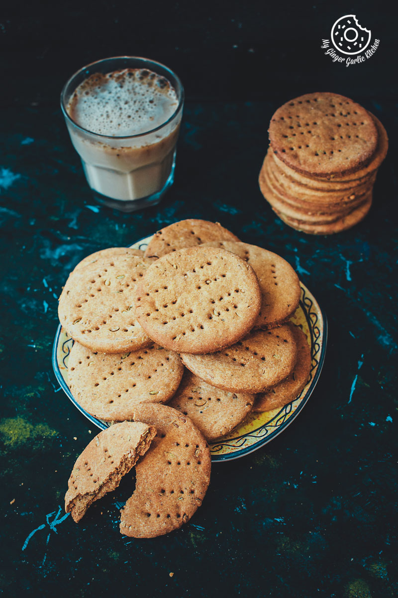Masaledar Jau Ki Papdi | Spicy Barley Crackers | Black Chickpeas Chaat | mygingergarlickitchen.com/ @anupama_dreams