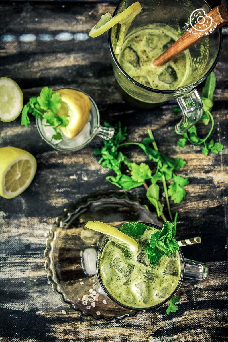 How To Make perfect Indian summer drink Jal Jeera | mygingergarlickitchen.com/ @anupama_dreams