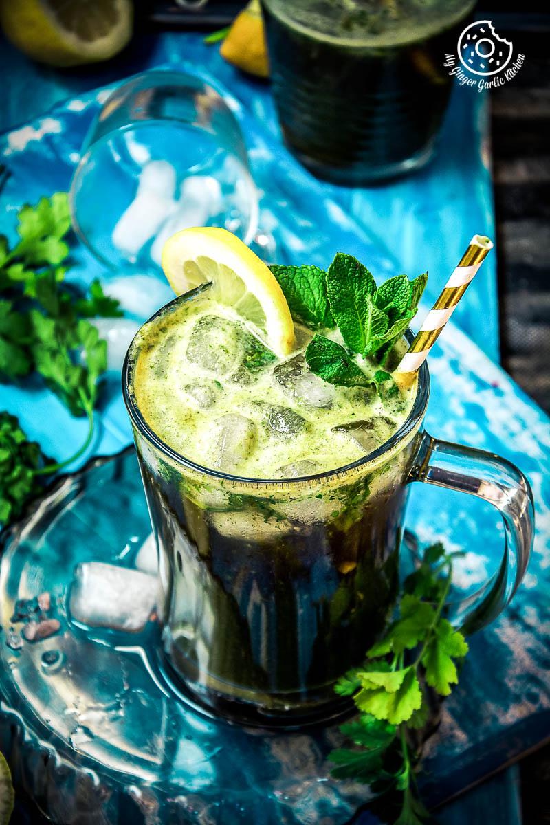 How To Make perfect Indian summer drink Jal Jeera   mygingergarlickitchen.com/ @anupama_dreams
