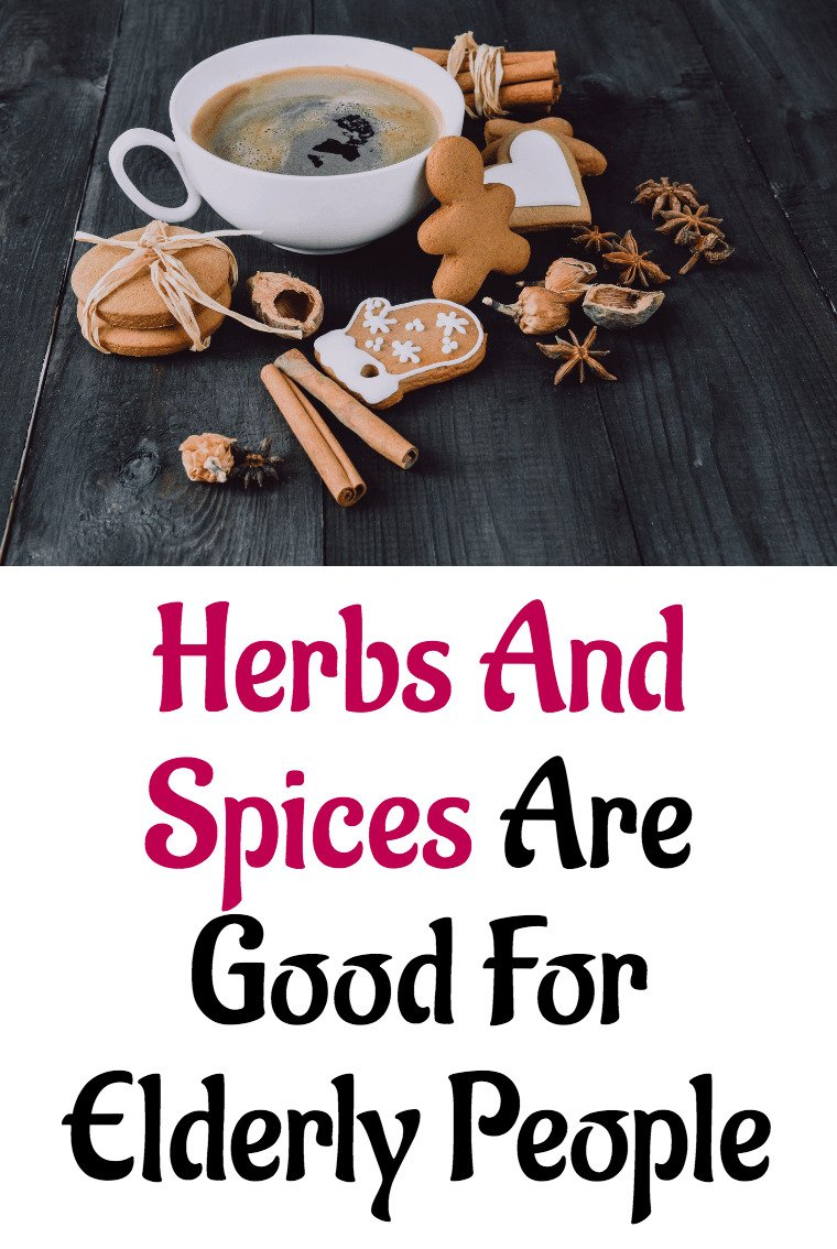 Image - Herbs And Spices Are Good For Elderly People.1