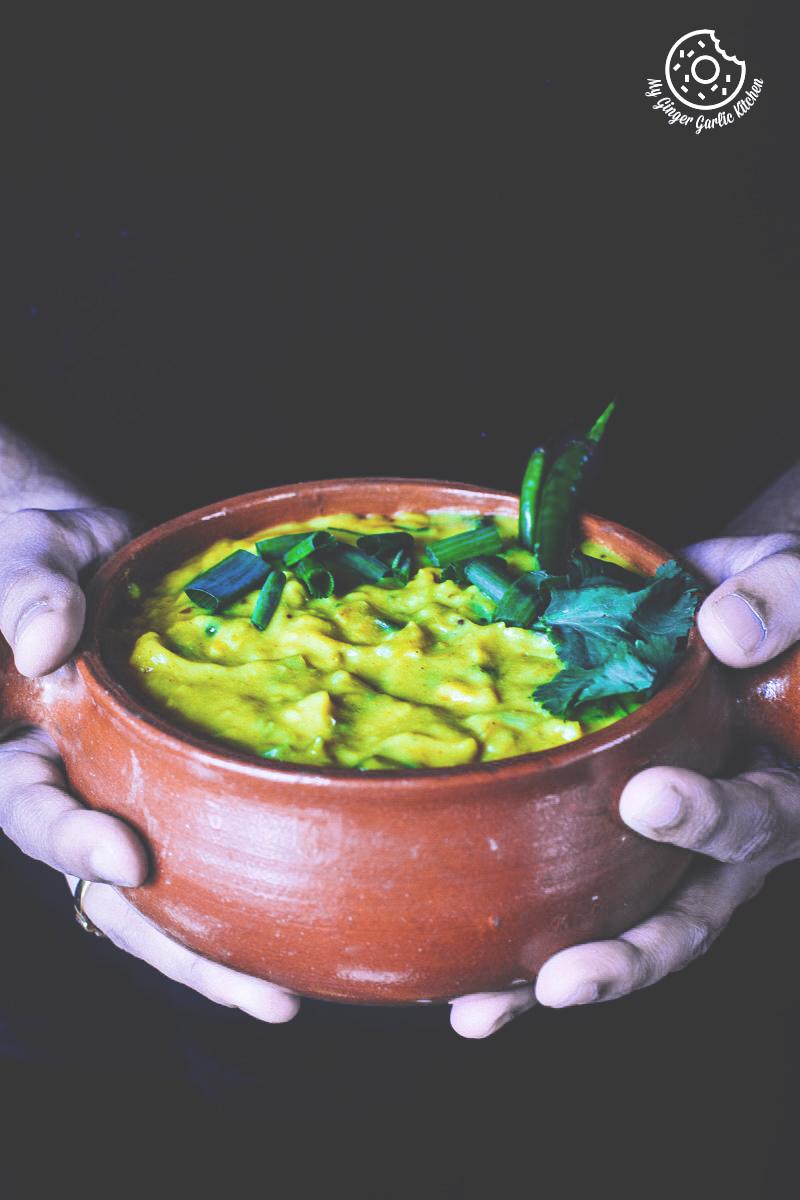 How To Make Double Pyaaz Ka Besan | Besan Ki Sabji | mygingergarlickitchen.com/ @anupama_dreams