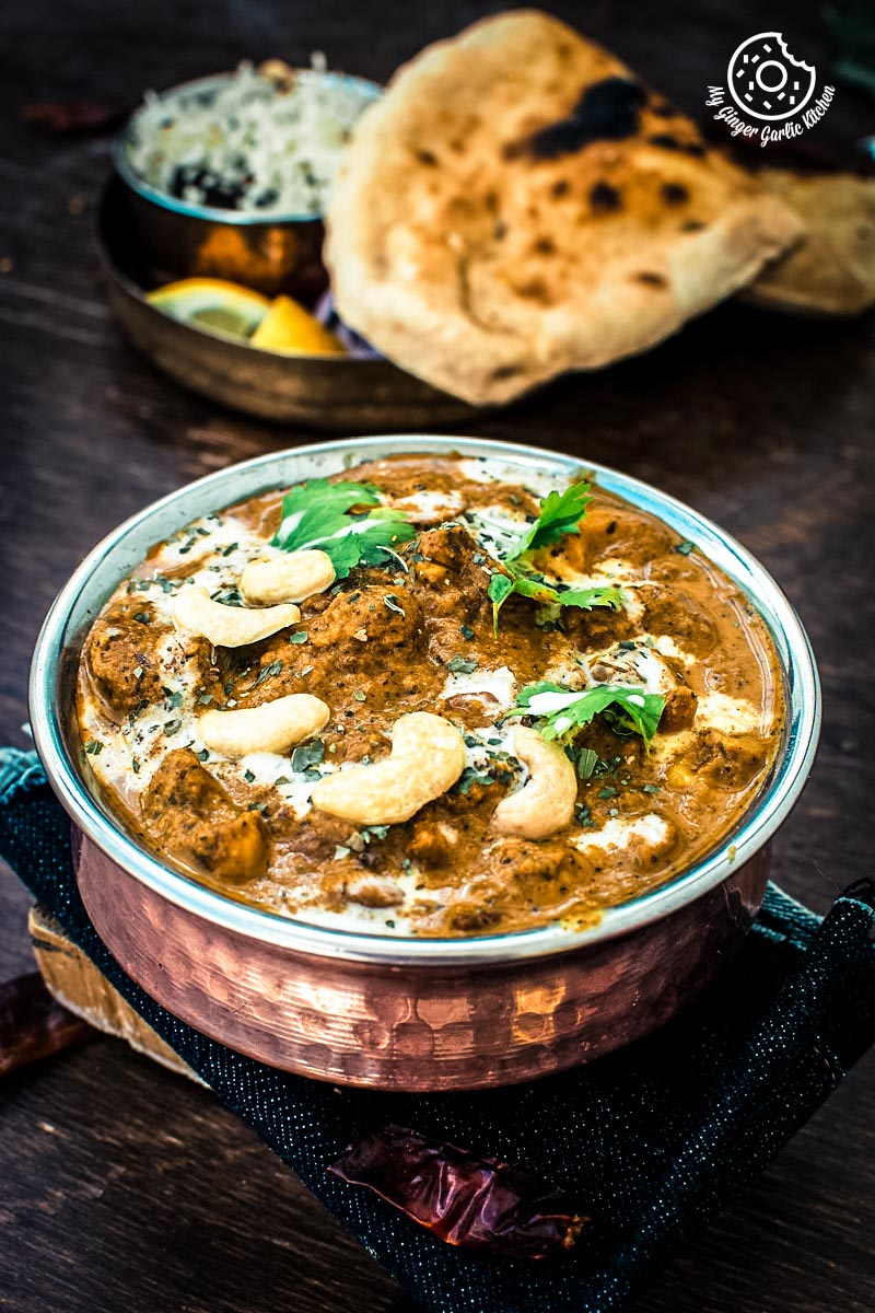 Restaurant Style Shahi Kaju Curry | Cashew Curry | mygingergarlickitchen.com/ @anupama_dreams