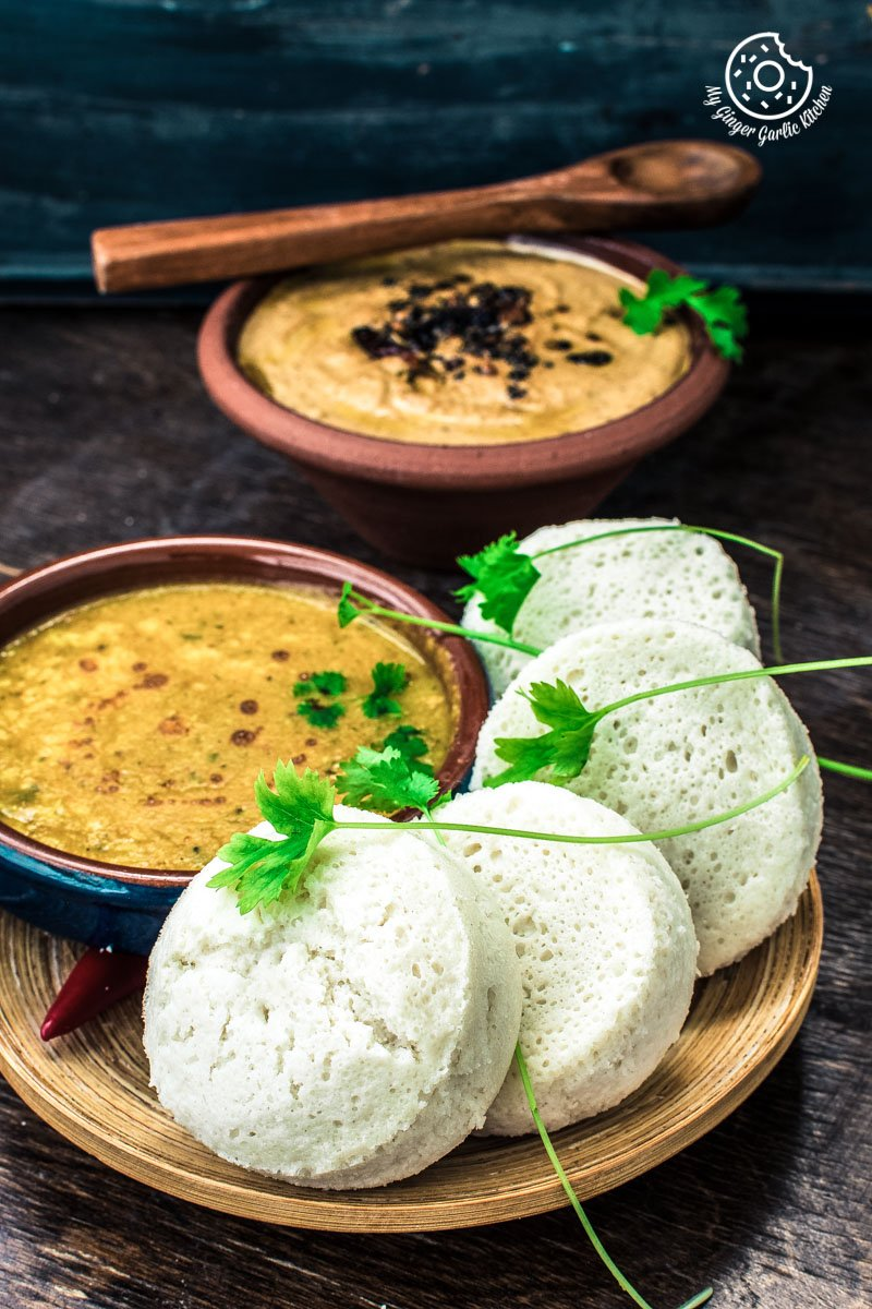 Image of Goan Sanna - Mangalorean Idlis - Goan Steamed Rice Cake