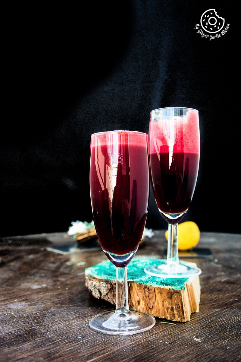 How To Make Detox Heart Beet Juice | mygingergarlickitchen.com/ @anupama_dreams