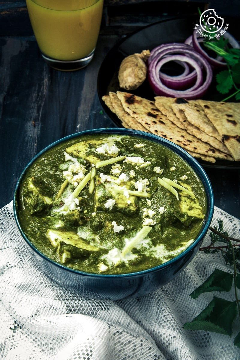 Palak paneer recipe spinach indian cottage cheese gravy palak paneer recipe how to make best palak paneer spinach indian cottage cheese gravy forumfinder Gallery