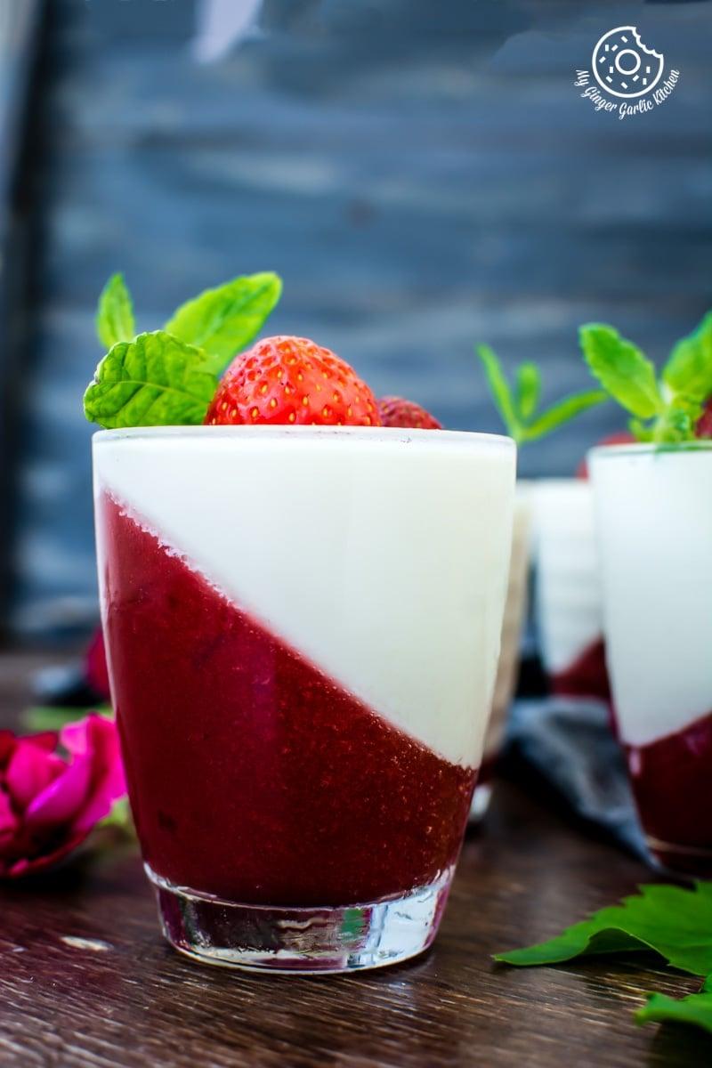 Image - 08 recipe of How To Make Strawberry Panna Cotta by anupama paliwal