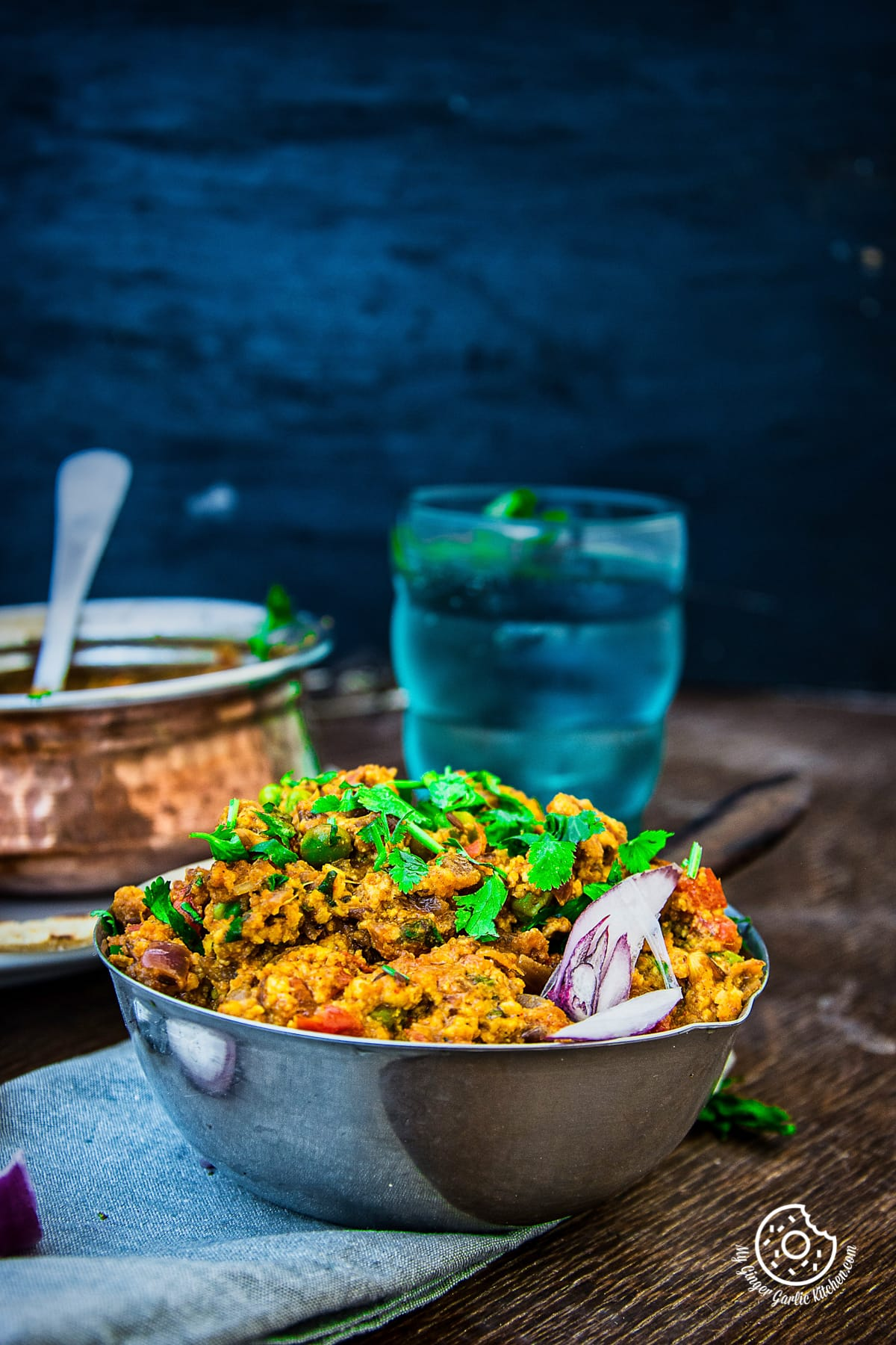 Image of Paneer Bhurji Dry - Scrambled Paneer (Video Recipe)