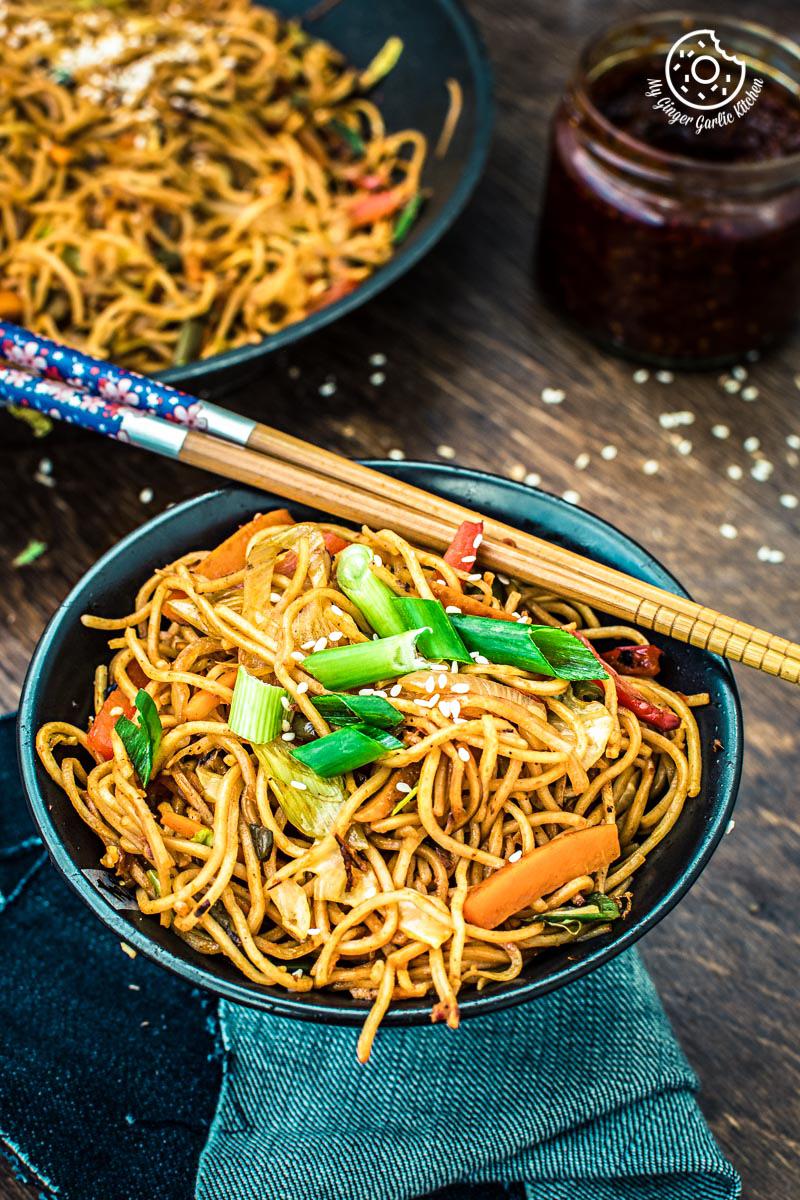how to prepare veg noodles