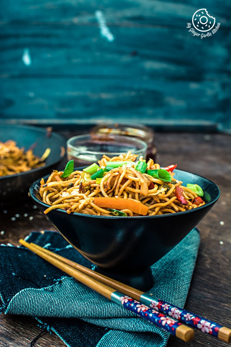 Image - veg chezwan noodles recipe 11