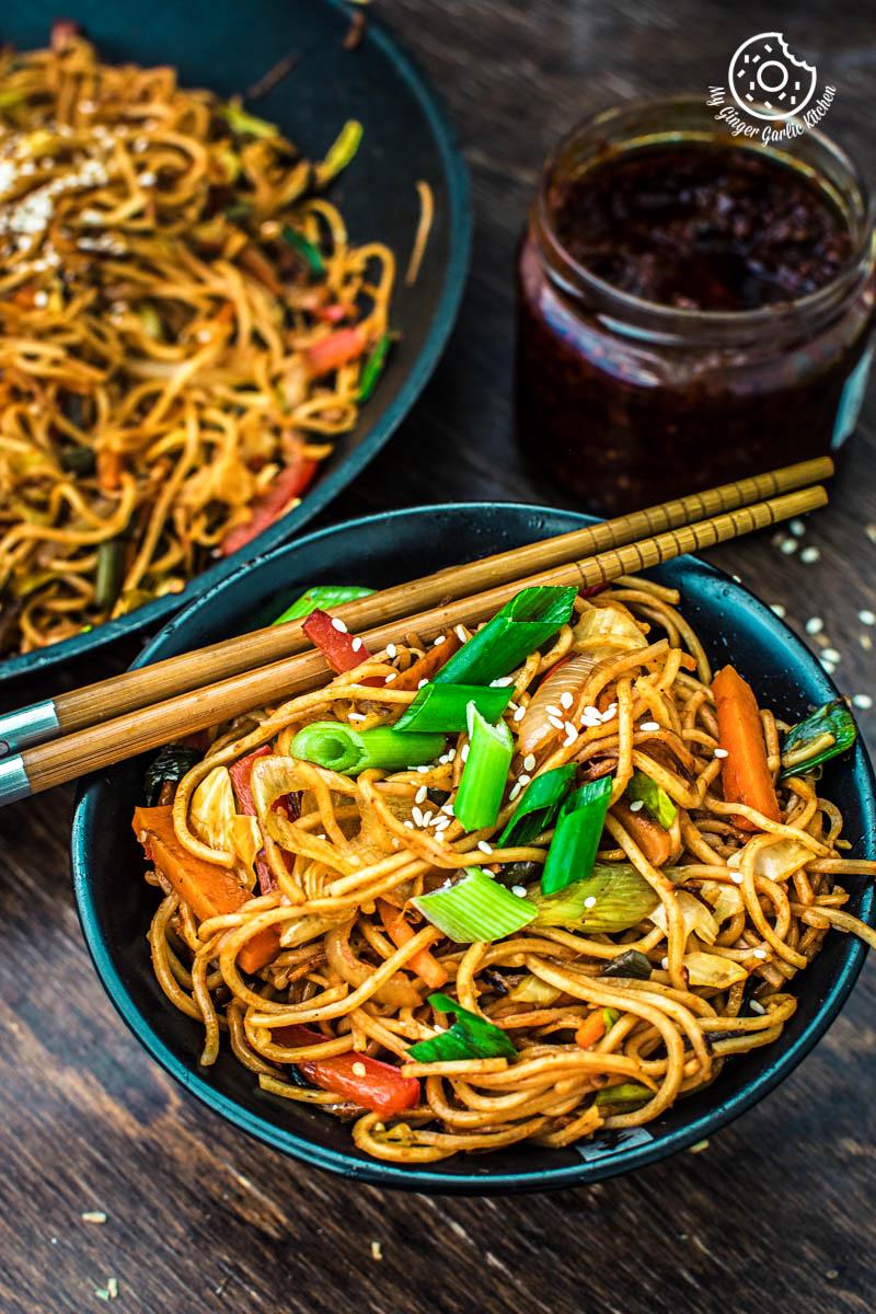 Image - veg chezwan noodles recipe 3