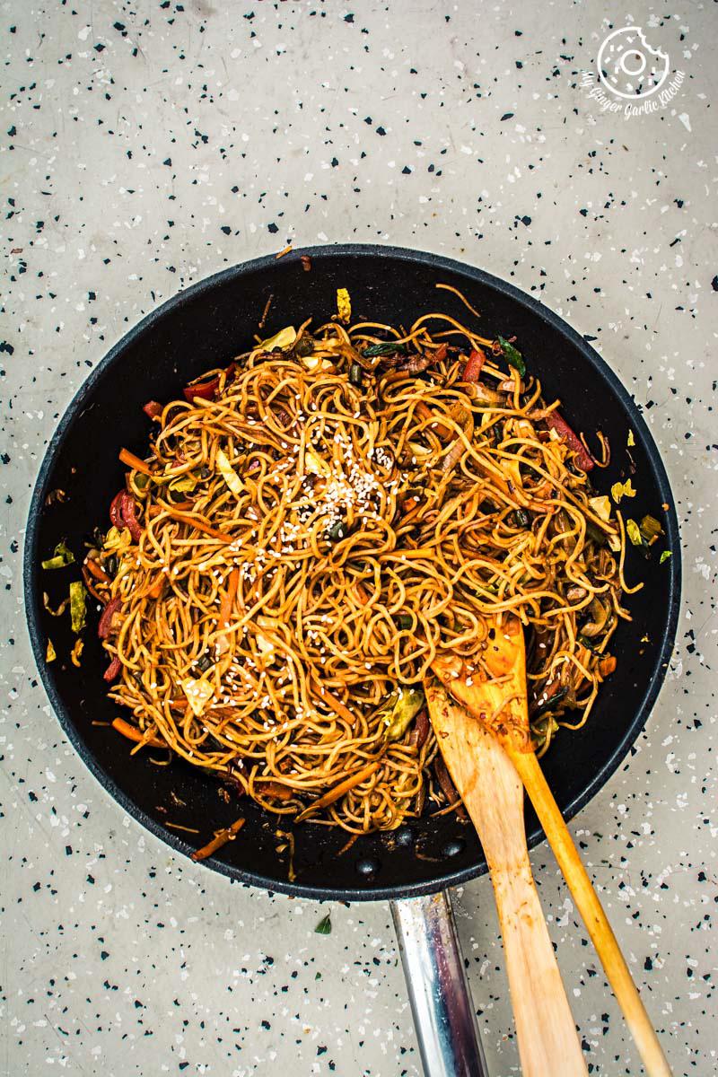 Image - veg chezwan noodles recipe 6