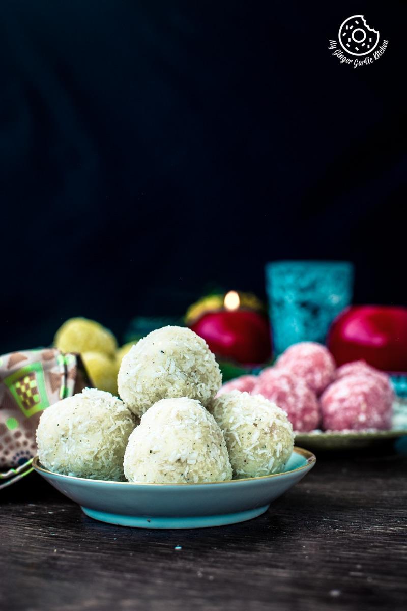 Image - recipe instant coconut ladoo 3 ways 2