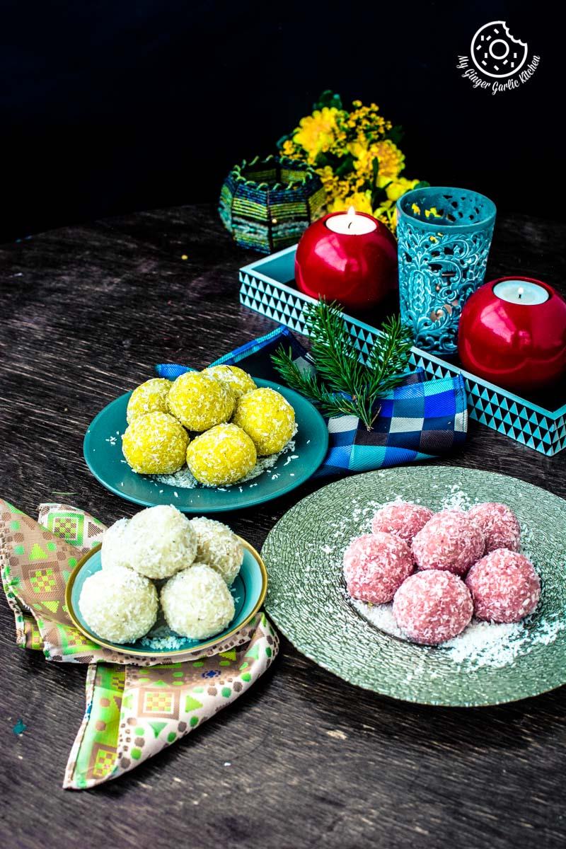 Image - recipe instant coconut ladoo 3 ways 4