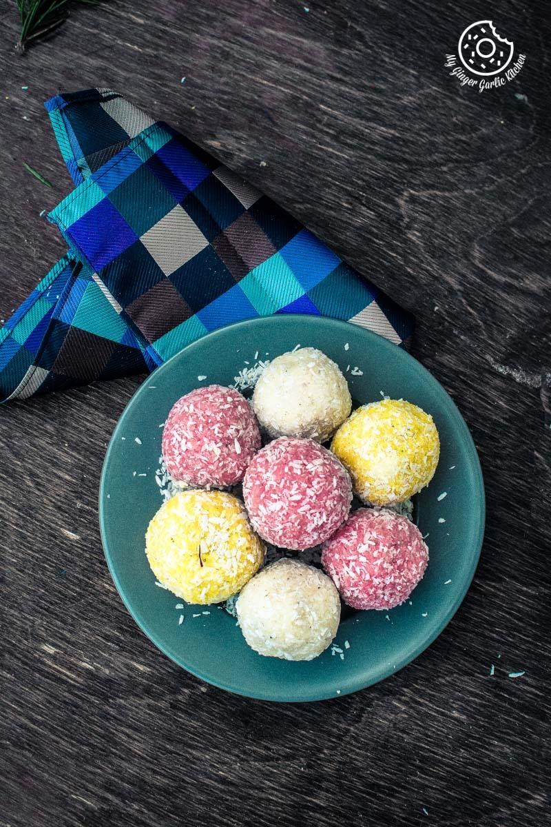 Image - recipe instant coconut ladoo 3 ways 6