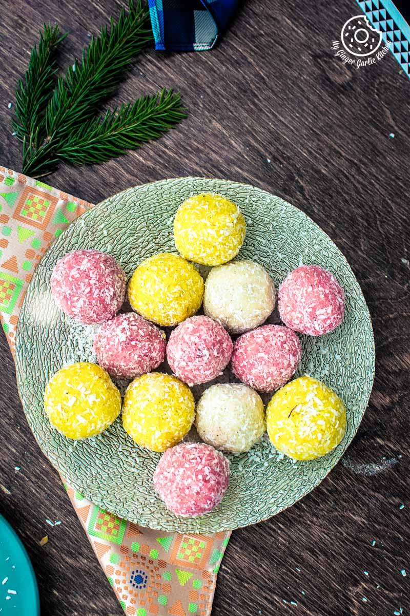 Image - recipe instant coconut ladoo 3 ways 7