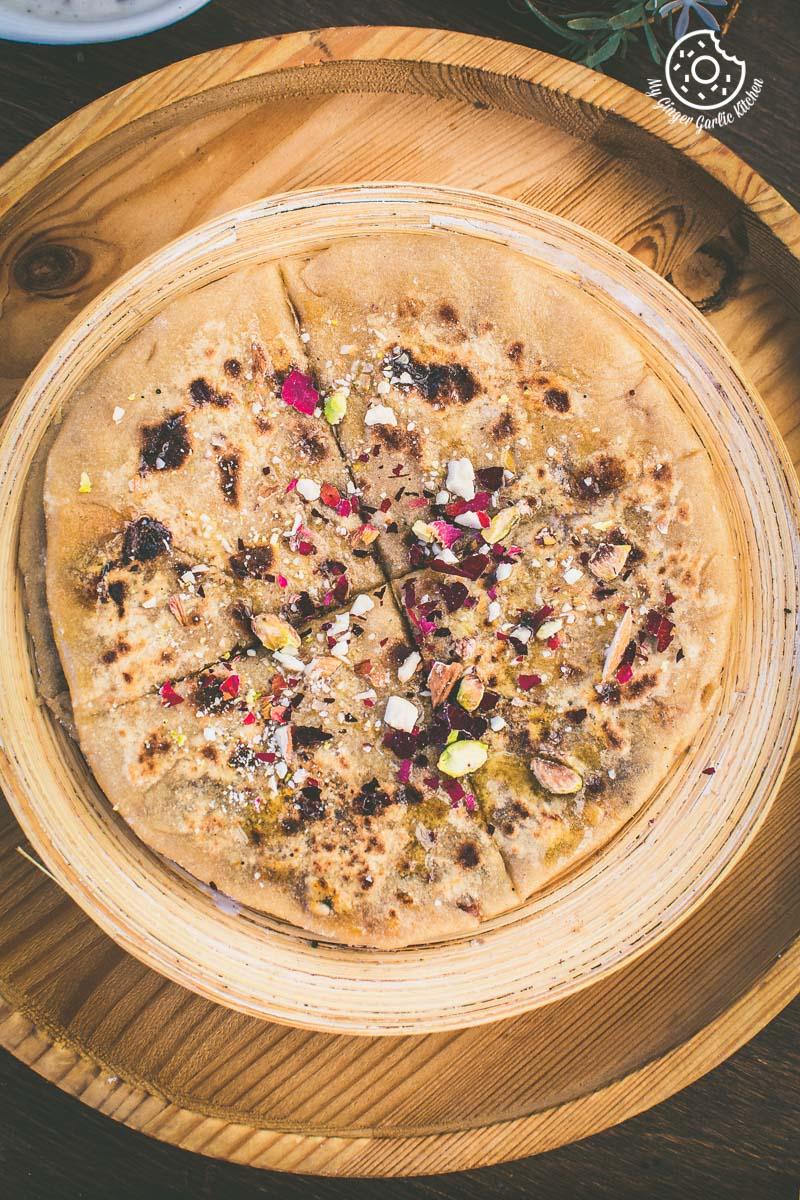 How to Make Gulkand Dessert Paratha With Gulkand Raita Recipe     mygingergarlickitchen.com/ @anupama_dreams