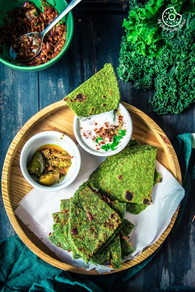 Image of How To Make Healthy Oats Paratha - Oats Green Paratha
