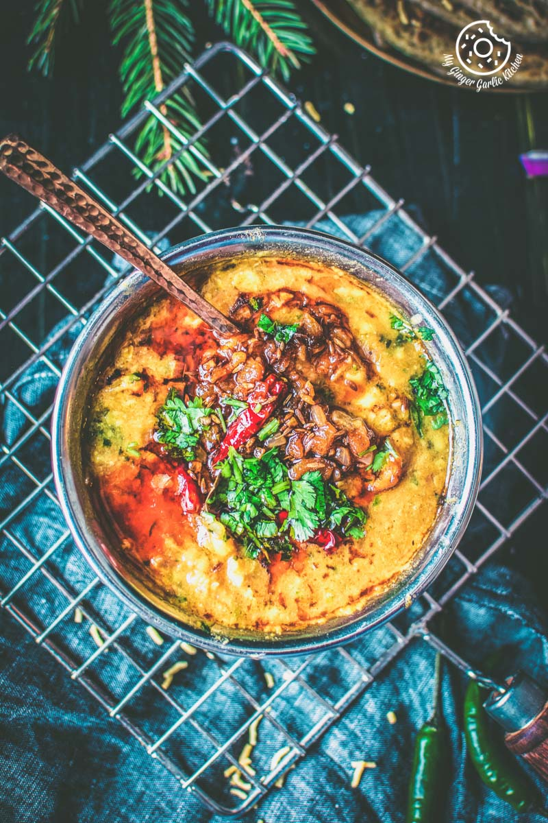 Restaurant style Tadka Dal Recipe | How To Make Dal Tadka | | mygingergarlickitchen.com/ @anupama_dreams