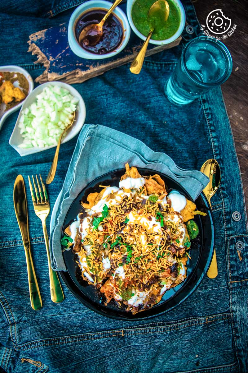 Image - palak patta chaat spinach leaf fritters 1