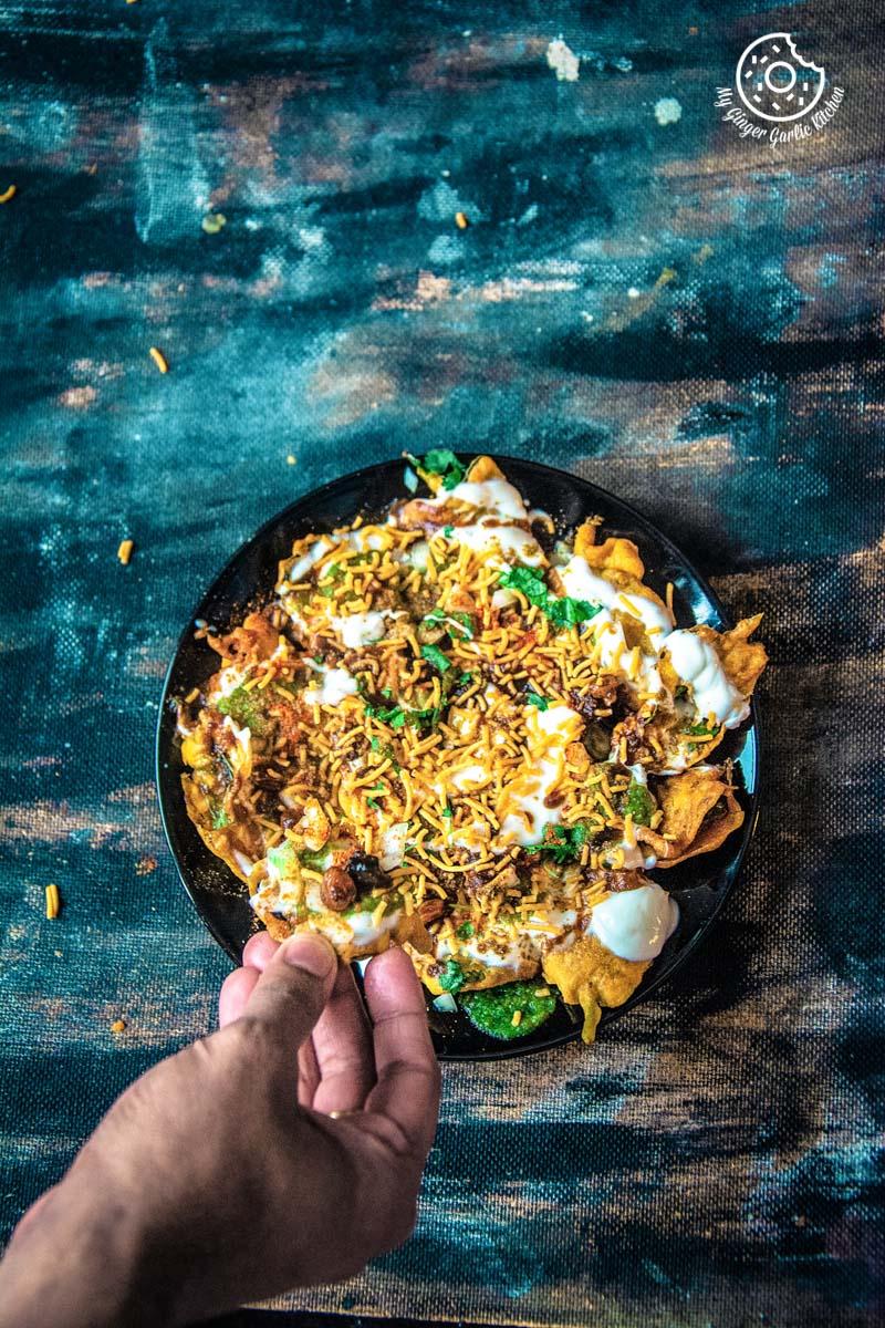 Palak Patta Chaat Recipe | Spinach Leaf Fritters | पालक पत्ते की चाट | | mygingergarlickitchen.com/ @anupama_dreams
