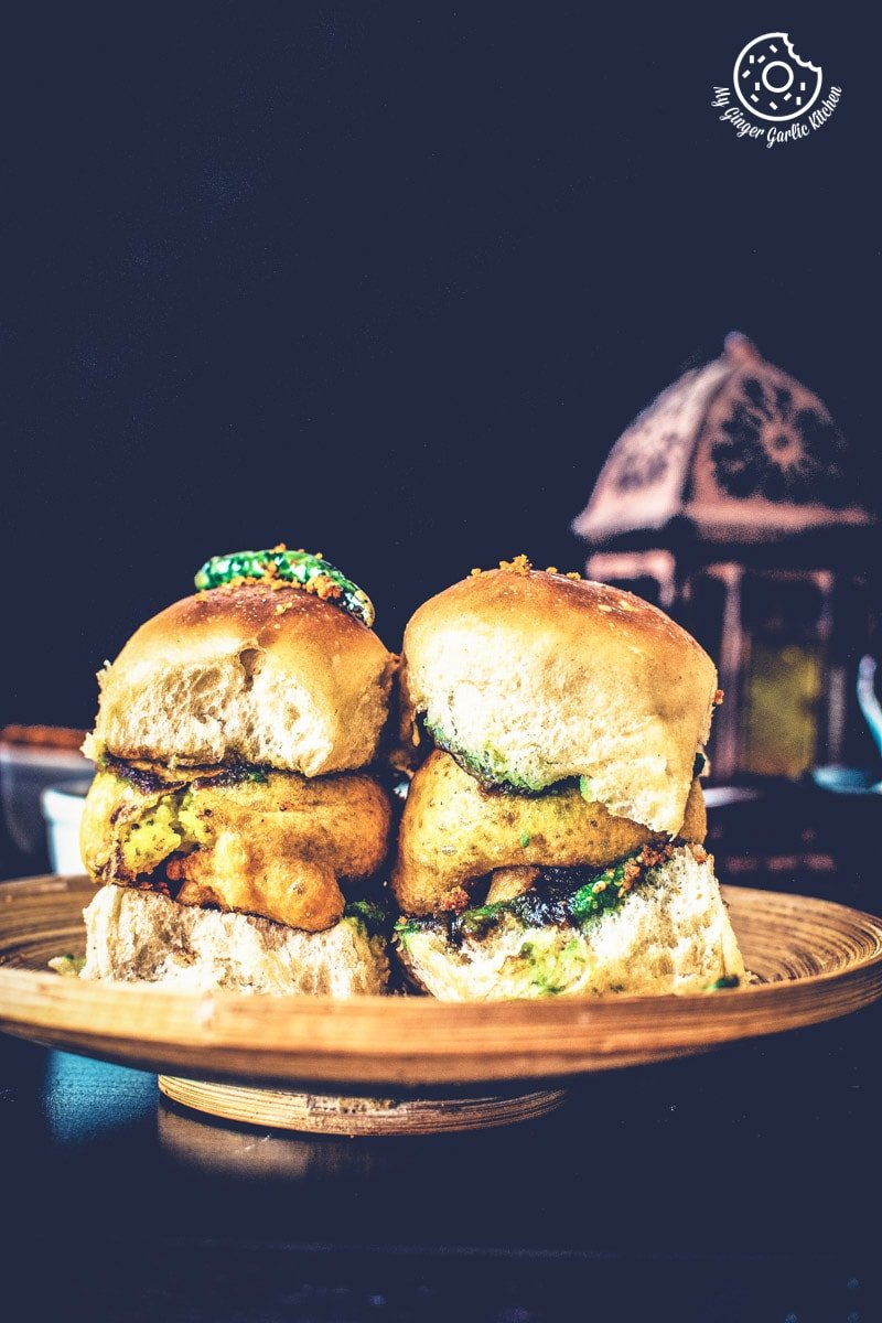 Image of Vada Pav Recipe - How To Make Mumbai Vada Pav
