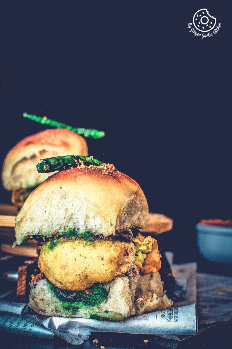 Vada Pav Recipe | How To Make Mumbai Vada Pav | mygingergarlickitchen.com/ @anupama_dreams