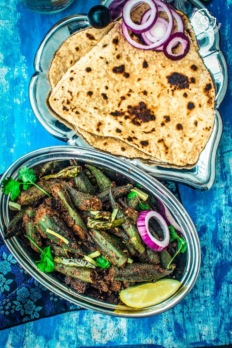 Bharwa Bhindi Recipe | Stuffed Okra Masala Recipe Video | | mygingergarlickitchen.com/ @anupama_dreams