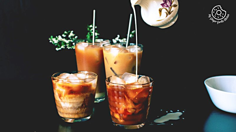 Thai Iced Tea Recipe | mygingergarlickitchen.com/ @anupama_dreams