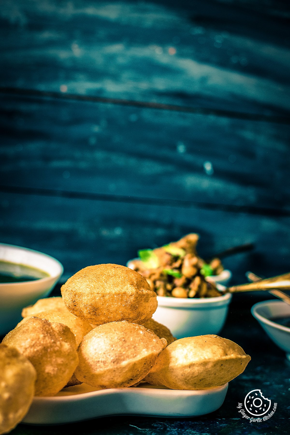 Complete Pani Puri Recipe | Gol Gappa Recipe Video | mygingergarlickitchen.com/ @anupama_dreams