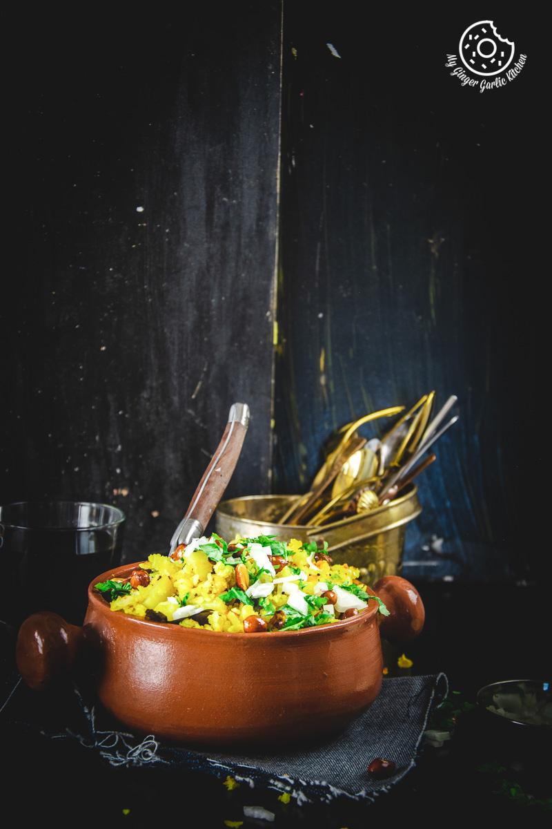 Image - aloo poha recipe video anupama paliwal my ginger garlic kitchen 4