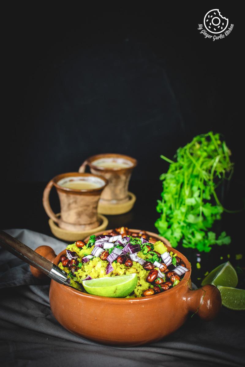 Image - aloo poha recipe video anupama paliwal my ginger garlic kitchen 9