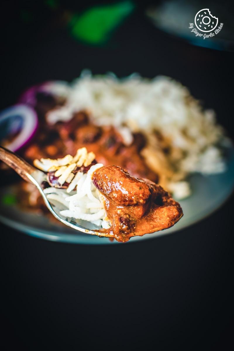 Restaurant Style Rajma Masala | Punjabi Rajma Masala Recipe | mygingergarlickitchen.com/ @anupama_dreams