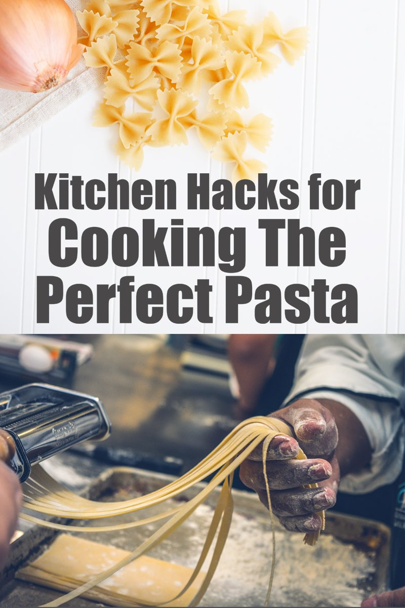 Kitchen Hacks For Cooking The Perfect Pasta | mygingergarlickitchen.com/ @anupama_dreams