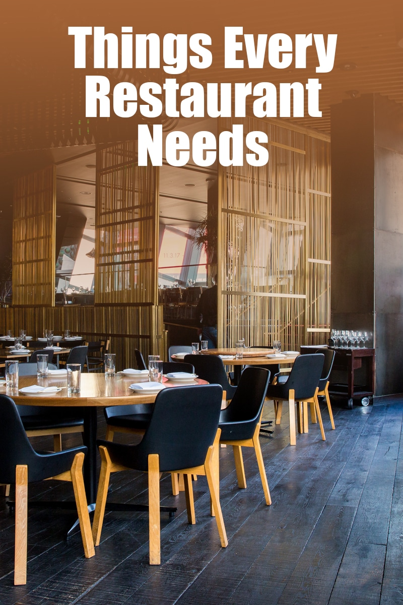 Things Every Restaurant Needs | mygingergarlickitchen.com/ @anupama_dreams
