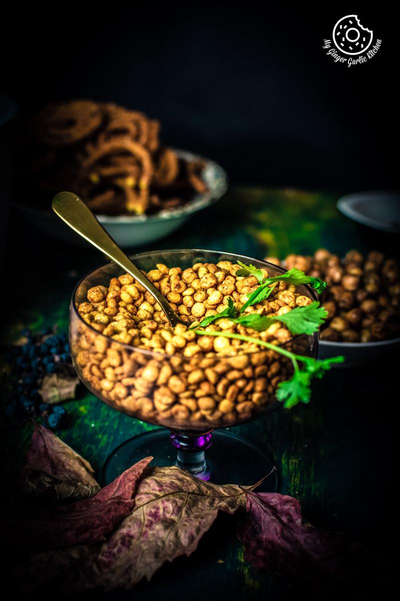 Chana Dal Namkeen | Crunchy Split Bengal Gram Snack | mygingergarlickitchen.com/ @anupama_dreams