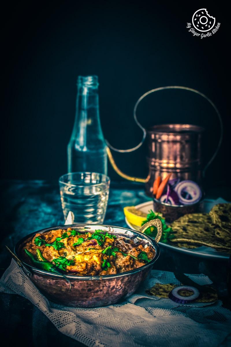 Paneer Tikka Masala Recipe | Restaurant Style Paneer Tikka Masala Curry | mygingergarlickitchen.com/ @anupama_dreams
