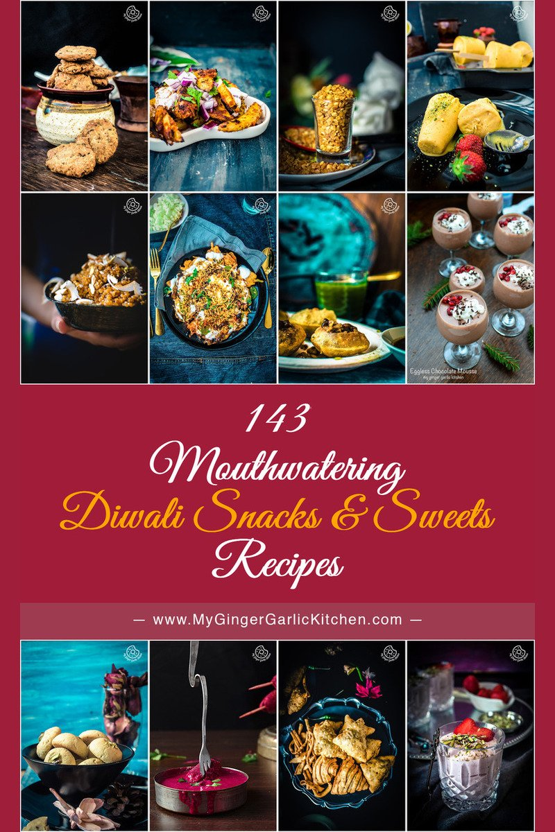 Image of 143 Easy and Delicious Diwali Snacks Sweets Recipes