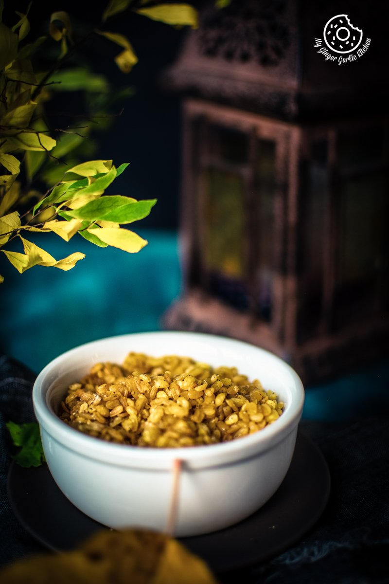 Moong Dal Namkeen | Salted Crunchy Fried Moong Dal Snack | mygingergarlickitchen.com/ @anupama_dreams